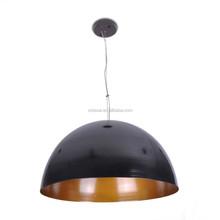 2015 copper electroplating black pendant light Dining room fashion decoration MD5071