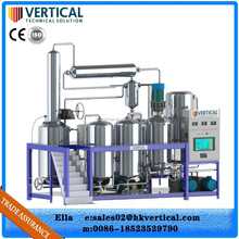 Automatic 24 hour online processing waste oil recycling technology