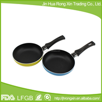 aluminum mini fry pan with non-stick coating /mini egg pan
