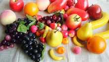 high quality artificial tropical fruits factory direct sale for kids