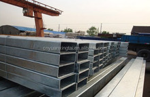 Galvanized rectangular steel pipe /manufacturer/high quality/in stock