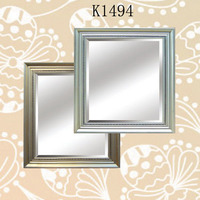 Framed Shape Bevelled Mirror