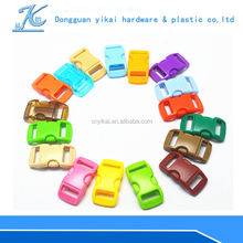 """3/8""""double side release buckle, plastic buckle with logo service,plastic insert buckles"""