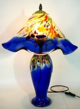 glass table lamp, glass lamp shades for table lamp, murano glass lamp shades