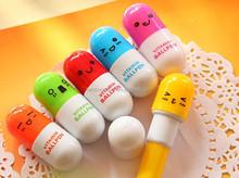 Custom Printed Retractable Capsule Ball Pen
