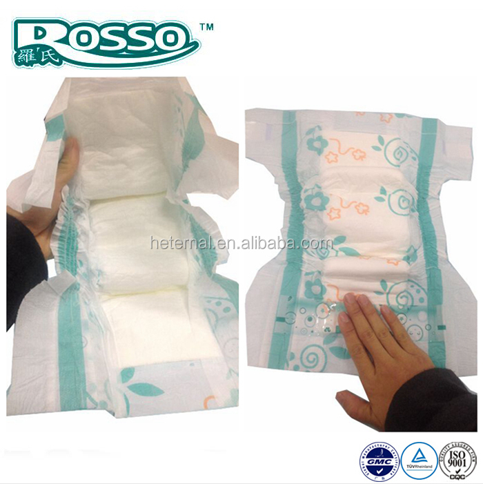 disposable baby diapers passed ISO/CE certificate