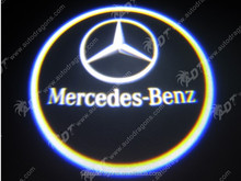 factory Wholesale LED Car Step Light for Benz CLS CLA Logo Lamp Ghost Shadow Project