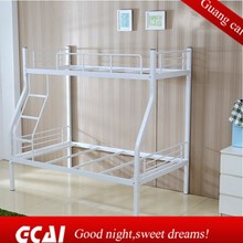 High quality white comfortable metal safety china triple bunk beds for kids