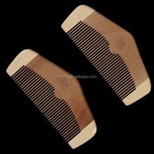 100% Nature Nanmu Wooden Combs 18*5
