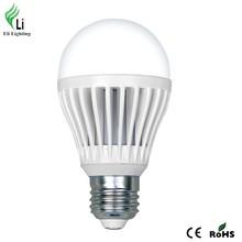 High-end indoor lighting 10W die casting aluminium e27 bulb lights led