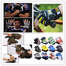 cycling glove 2015 hot sale light and soft breathe freely anti skidding indestructible cycling glove for riders
