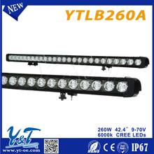 "Y&T LED 42.4"" 260 Watt LED Work Light Square Spot led davison lights for auto moto"