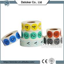 factory direct sale paper sticker