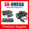 Mini itx aluminum case industrial pc N2800A mini pc power supply 12V