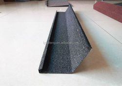 Classic Colorful Stone Coated Metal Roofing Tile / Metal Corrugated Tile Roofing/copper colored metal roof