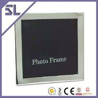 Antique Mini Picture Frames Bulk 5x5 Silver Color Photo Frame Metal Crafts Centerpieces