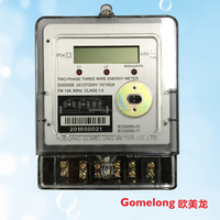 digital electric kwh energy meter reading and counter hour meter 220v