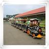 Amusement park electric mini train with track/ride electric train on kids