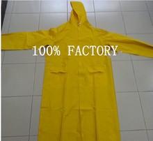 Cheap price pvc polyester raincoat,pvc raincoat,long rain coat
