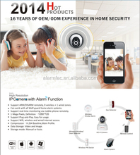 WIFI Alarm system IP camera alarm wireless alarm system with IOS and Android Application