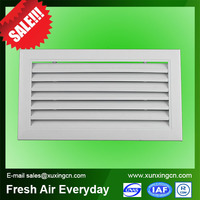 fixed type adjustable type aluminum air louver air grille total 6 pcs