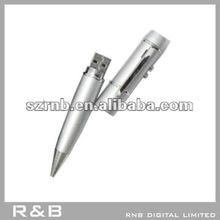 RNB's metal 8gb usb flash drive in pen shape