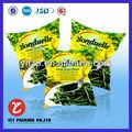 hortalizas de envases bolsa con el logotipo personalizado