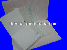 Customize electrocardiograph paper sheet used in hospital