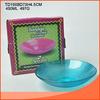 exquisite450ML Round diamond shape Salad bowl with blue color wholesale