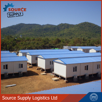 Steel Prefabricated houses, quick assemly houses,prefabricated concrete houses