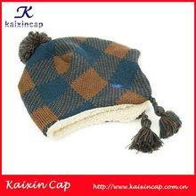 Custom beanie hats wholesale baby/chiledren knitted caps