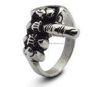 Stainless Steel Masonic/Military/Skull Rings for Men