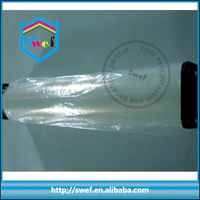 100um a4 waterproof semi-transparent inkjet printing corona treated pet film for india market