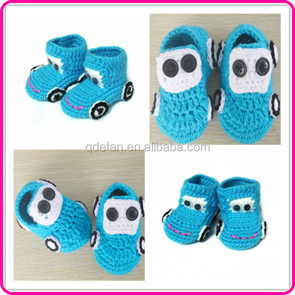 Baby Knitting Shoes Products : Free knitting pattern hand made baby shoes crocheted