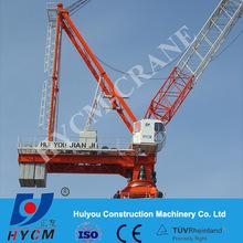 D260(6029) dubai jib crane luffing travel HYCM tower crane