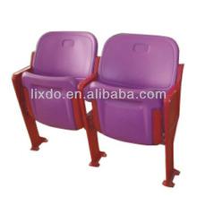Cheap Tip-up Plastic Stadium Chair HDPE Folding Sports Seat