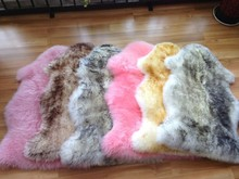 Brand New HUGE Large White Genuine Merino Sheepskin Fur Rug Carpet