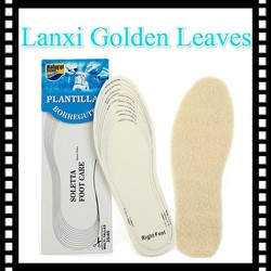 warm thermal eva shoe insole material