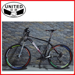 Fluorescent Mountain Cycling Wheel Tire Rim Reflective Stickers