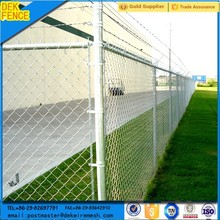 50x50mm Products of Reliable Galvanized Diamond Chain Link Fence
