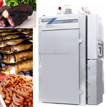 Stainless steel chicken meat smoker with tray