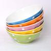 5inch color ceramic bowl