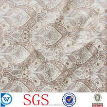 poly viscose woven jacquard fabric for garment