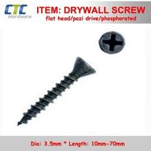 E.G. Pozi Drive Trim Flat Head Drywall Screws With Sparsity Ribs