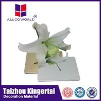 Alucoworld mirror aluminium composite wall panel acp silicone sealant