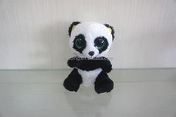 Panda plush big eyes animal toys, stuffed soft toys