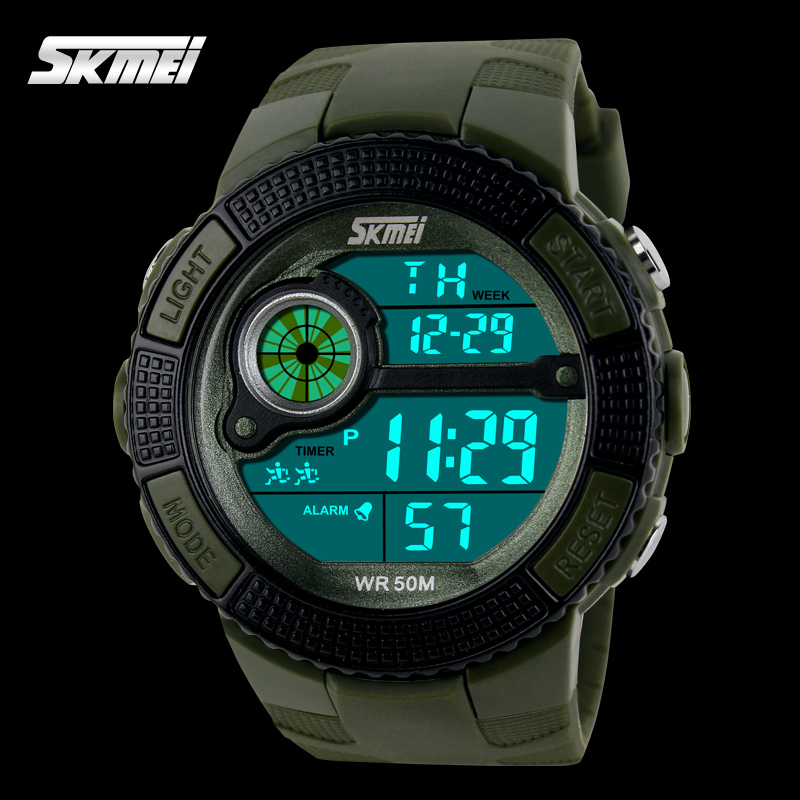 custom made watches digital plastic wristwatch