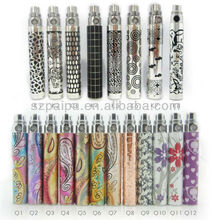 PaiPu factory price cigaret healthy colorful battery electronic cigarette for best cigarette battery