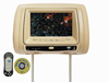 Car headrest DVD screen car dvd player with wireless game controller