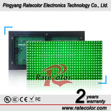 Electronics Wholesale Outdoor p10 green Led Display Panel/led display module